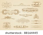vintage style elements | Shutterstock .eps vector #88164445
