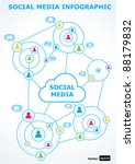 social media concept. vector... | Shutterstock .eps vector #88179832