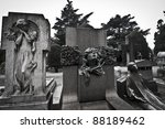 Statues At The Cemetery...