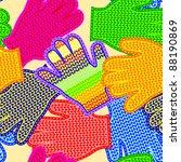 the seamless vector texture.... | Shutterstock .eps vector #88190869