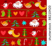 christmas background.bitmap... | Shutterstock . vector #88210420