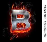 hot metal letter | Shutterstock . vector #88212016