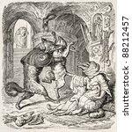 reynecke fuchs old illustration ... | Shutterstock . vector #88212457