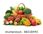composition with vegetables and ...
