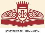 tattoo cross symbol | Shutterstock .eps vector #88223842