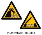 danger  hazard | Shutterstock .eps vector #882311