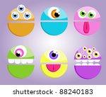 little monsters | Shutterstock .eps vector #88240183
