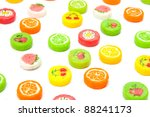 many differnt tasty candies on... | Shutterstock . vector #88241173