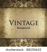 invitation vintage card | Shutterstock .eps vector #88250632