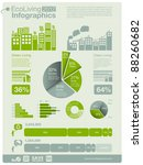 ecology info graphics... | Shutterstock .eps vector #88260682