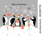 Greeting Card With Happy...