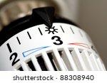 heater thermostat at sun | Shutterstock . vector #88308940