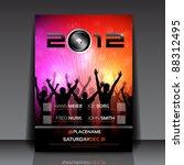 Eps10 Flyer Design With Dancin...