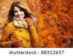 Portrait Of An Autumn Woman...