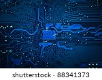 circuit board background | Shutterstock . vector #88341373