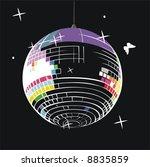 the mirror ball | Shutterstock .eps vector #8835859