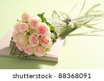 Stock photo beautyful roses bouquet 88368091