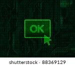 modern technology style... | Shutterstock .eps vector #88369129
