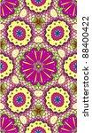 Seamless Kaleidoscopic Mosaic...
