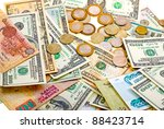 A Collection Of Various Money...