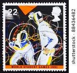 great britain   circa 1991  a... | Shutterstock . vector #88436482