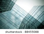 perspective angle view to high... | Shutterstock . vector #88455088