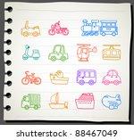 sketchbook  series    car...   Shutterstock .eps vector #88467049