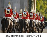 Famous London Horse Guards