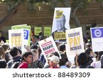 los angeles   nov 9   hundreds... | Shutterstock . vector #88489309