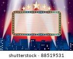 vector blank billboard over... | Shutterstock .eps vector #88519531