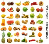 collection of fresh and... | Shutterstock . vector #88524166