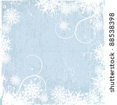 winter background  snowflakes   ... | Shutterstock .eps vector #88538398