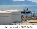 gas tank in hong kong | Shutterstock . vector #88552624