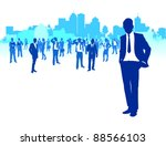 business people background   Shutterstock .eps vector #88566103