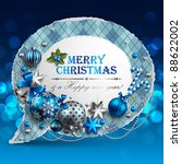 Christmas Vintage Bubble With...