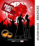 vector event poster | Shutterstock .eps vector #88634182