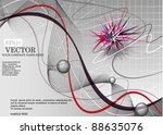 abstract background composition ... | Shutterstock .eps vector #88635076