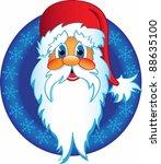 santa claus snowman icon | Shutterstock .eps vector #88635100
