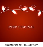 vector christmas background... | Shutterstock .eps vector #88639489