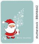 cartoon christmas background... | Shutterstock .eps vector #88646662