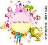 princess set | Shutterstock .eps vector #88654681
