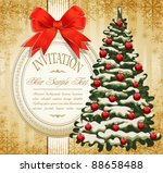 vector festive invitation to... | Shutterstock .eps vector #88658488