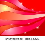 abstract background with red...