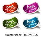 beans bubble speech with best... | Shutterstock .eps vector #88691065
