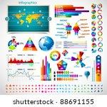 premium infographics master... | Shutterstock .eps vector #88691155