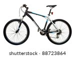 mountain bicycle bike isolated... | Shutterstock . vector #88723864