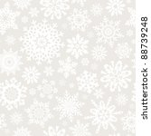 seamless snowflakes pattern for ... | Shutterstock .eps vector #88739248