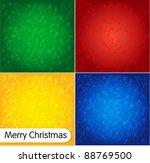 christmas background | Shutterstock .eps vector #88769500
