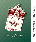 christmas tag | Shutterstock .eps vector #88775281