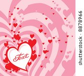 valentine's background with... | Shutterstock .eps vector #8878966